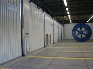 The drying chambers of BES Bollmann could be used for degassing of cables too